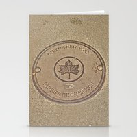 parks and recreation Stationery Cards featuring Parks & Recreation - Central Park, NYC by Dianne Somma (My New York)