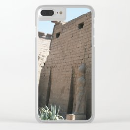 Temple of Luxor, no. 26 Clear iPhone Case