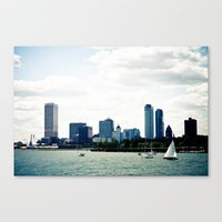 milwaukee Canvas Prints featuring Milwaukee, WI by T. Todd Photos
