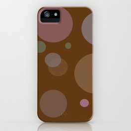 Chocolate Dots iPhone Case