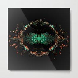 Fractal Art - Space Totem Metal Print