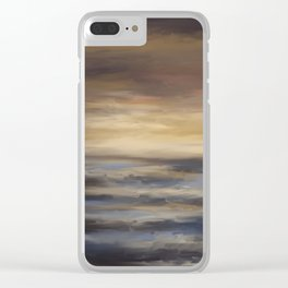 Sea's The Day Clear iPhone Case