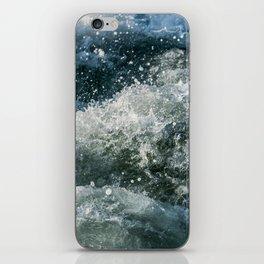 Choppy Water iPhone Skin