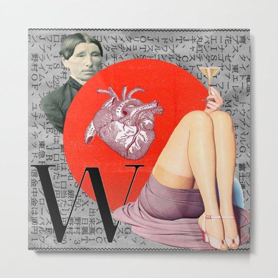 A woman's life Metal Print