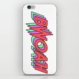 BWOAH 80's iPhone Skin