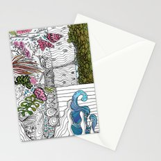 The Corner Garden Stationery Cards