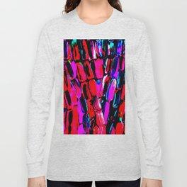 Dark Red Sugarcane Long Sleeve T-shirt