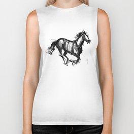 Horse (Far from perfection) Biker Tank