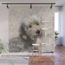 Dog Goldendoodle Golden Doodle Wall Mural