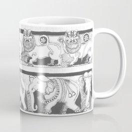 Temple Wall Coffee Mug