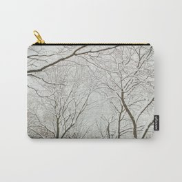 Snowy trees in Montreal Carry-All Pouch