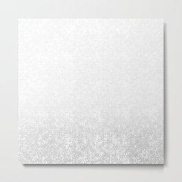 Gradient ornament Metal Print