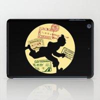 tintin iPad Cases featuring Run Tintin, Run by ikado