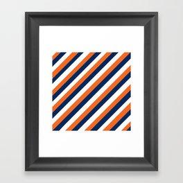 Go Broncos! Framed Art Print