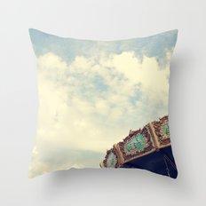Swing Ride Throw Pillow