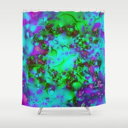 Under the Cool Blue Sea Shower Curtain