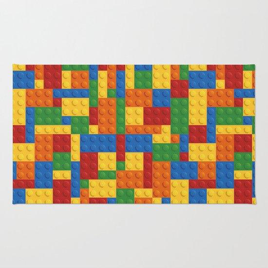 Lego Rug] Lego Bricks Rug By Earthislife Society6, Lego Rug By ...