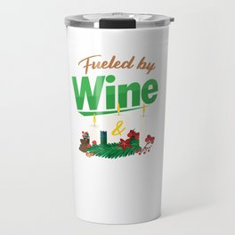 Candlemaker Candlemaking Candlelight Fueled By Wine Chandler Gift Travel Mug