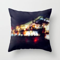 Color Drunk Love Throw Pillow