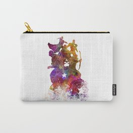 Avenger 02 in watercolor Carry-All Pouch