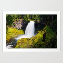 Sahalie Falls, Oregon Art Print