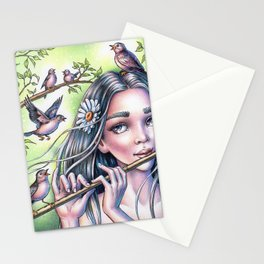 Birdsong Fairy Stationery Cards