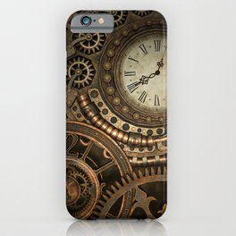 Steampunk Clockwork iPhone Case