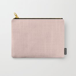 Plain Pastel Pink Color Background Carry-All Pouch