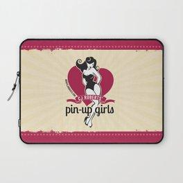 CJ Roberts' Pin-Up Girls Laptop Sleeve