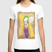 """suits T-shirts featuring The Joker"""" suits you sir """" by Funki monkey animation studio"""