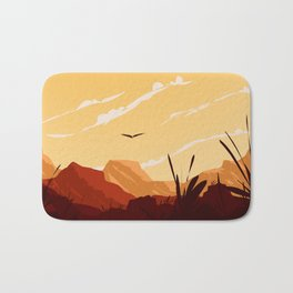 West Texas Landscape Bath Mat