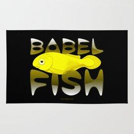Babel fish Rug