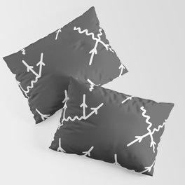 Feynman diagrams Pillow Sham