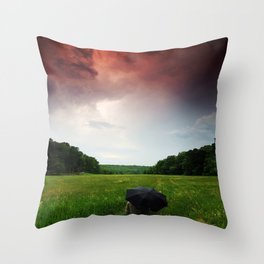 The Force Of Both Worlds  Throw Pillow