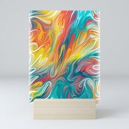 Abstract Colors II Mini Art Print