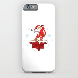 Your Hole Is My Goal Merry Christmas Design For December 25th T-shirt Design Jesus Birthday Carol iPhone Case