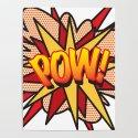 Comic Book Pop Art POW! by theimagezone