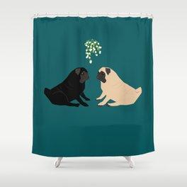Christmas Couple Shower Curtain