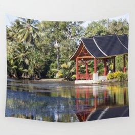 Peaceful Pagoda Wall Tapestry
