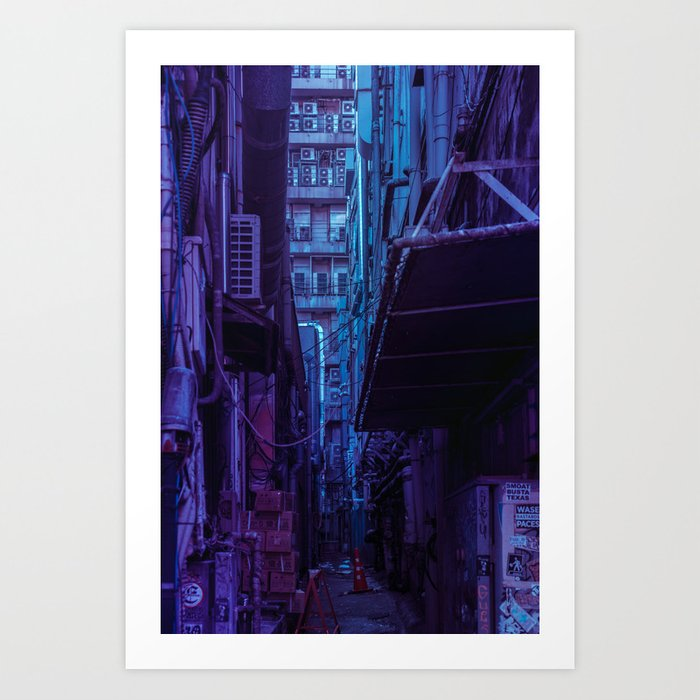Tokyo Nights / Shadow of The Day / Liam Wong Art Print