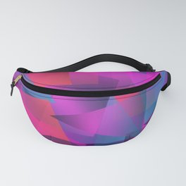 Abstract cube Fanny Pack