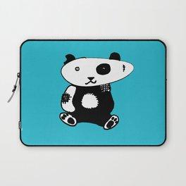 Patchwork Panda Bear Laptop Sleeve
