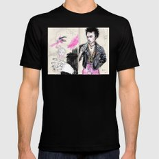 Sid vicious Black SMALL Mens Fitted Tee