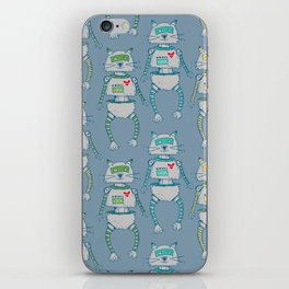 The Cat-Bot Trio iPhone Skin