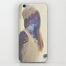 Galaxy Girl iPhone Skin