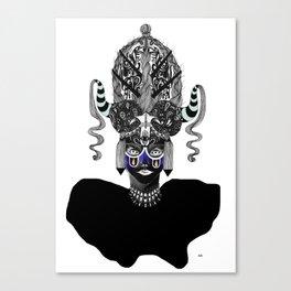 Third Eye Tikka Canvas Print