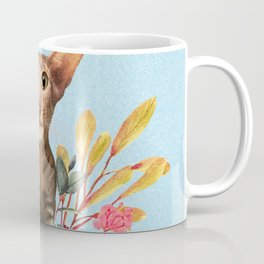 kitty in spring blossom Coffee Mug