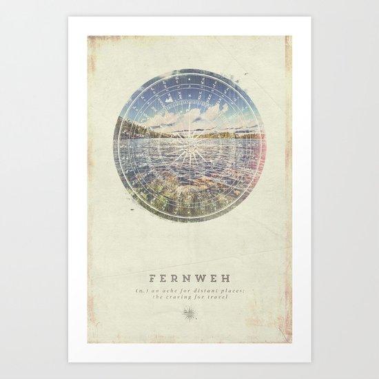 Fernweh Vol 1 Art Print