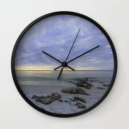 Naples Seascape 1/12 Wall Clock