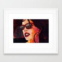 miami Framed Art Prints featuring MIAMI  by Stephan Parylak